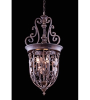 Picture for category Elegant 4900D14GU Troy Pendants Gilded Umber 3-light