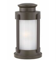 Picture for category Hinkley 2497KZ Briggs Outdoor Post Light 9in Buckeye Bronze Aluminum 1-light