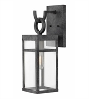 Picture for category Hinkley 2800DZ Porter Wall Sconces 6in Aged Zinc Aluminum 1-light