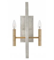 Picture for category Hinkley 3460CG Euclid Wall Sconces 10in Cement Gray Steel 2-light