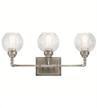 Picture of Kichler 45592AP Niles Bath Lighting 24in Antique Pewter Steel 3-light