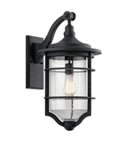 Picture for category Kichler 49128DBK Royal Marine Outdoor Wall Sconces 12in Distressed Black