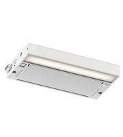Picture for category Kichler 6UCSK08WHT 6U Series LED Under Cabinet 4in Textured White Aluminum