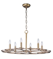 Picture for category Maxim 24739BZF Helix Chandeliers 32in Bronze Fusion Steel 6-light