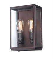 Picture for category Maxim 4067CLOI Pasadena Wall Sconces 9in Oil Rubbed Bronze Aluminum 2-light