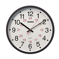 Picture for category Dainolite 22502-BK Standart Clock 2in Black Glass