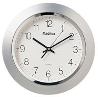 Picture for category Dainolite 29012-MT-SV Standart Clock 2in Silver Plastic
