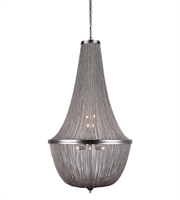 Picture for category Pendants Porch 10 Light With Pewter Finish size 30 in 400 Watts - World of Classic