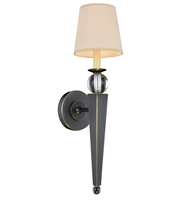Picture for category Wall Sconces 1 Light With Bronze Finish E12 Bulb 6 inch 40 Watts - World of Classic