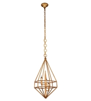 Picture for category Pendants Porch 3 Light With Urban Classic Golden Iron size 14 in 120 Watts - World of Classic