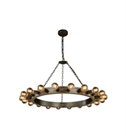 Picture for category Pendants Porch 20 Light With Urban Classic Aged Iron size 40 in 800 Watts - World of Classic