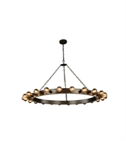 Picture for category Pendants Porch 24 Light With Urban Classic Aged Iron size 55 in 960 Watts - World of Classic