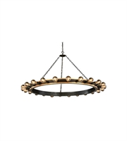 Picture for category Pendants Porch 24 Light With Urban Classic Golden Iron and Vintage Bronze size 55 in 960 Watts - World of Classic