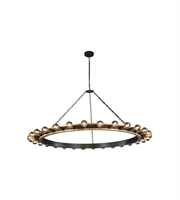 Picture for category Pendants Porch 30 Light With Urban Classic Golden Iron and Vintage Bronze size 65 in 1200 Watts - World of Classic