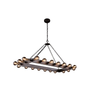 Picture for category Pendants Porch 20 Light With Urban Classic Aged Iron size 21 in 800 Watts - World of Classic