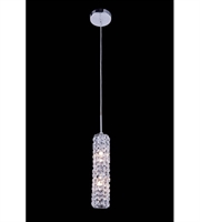 Picture for category Pendants Porch 2 Light With Clear Crystal Royal Cut Chrome size 3 in - World of Classic