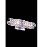 Picture for category Wall Sconces 2 Light With Clear Crystal Royal Cut Chrome size 12 in 40 Watts - World of Classic