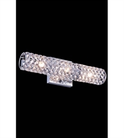 Picture for category Wall Sconces 3 Light With Clear Crystal Royal Cut Chrome size 16 in 60 Watts - World of Classic