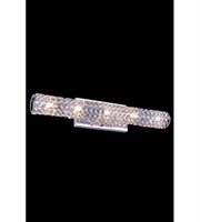 Picture for category Wall Sconces 5 Light With Clear Crystal Royal Cut Chrome size 24 in 100 Watts - World of Classic