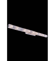 Picture for category Wall Sconces 9 Light With Crystal (Clear) Royal Cut Chrome size 48 in 180 Watts - World of Classic