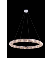 Picture for category Pendants Porch 20 Light With Clear Crystal Royal Cut Chrome size 32 in - World of Classic