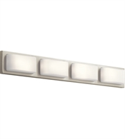 Picture for category Elan 83899 Kelsi Bath Lighting Brushed Nickel Steel 4-light