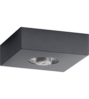 Picture for category Elan 83979 Mates Flush Mounts Charcoal Steel 1-light