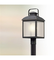Picture for category Troy PL5085 Chamberlain Outdoor Post Light 10in Vintage Bronze Solid Aluminum
