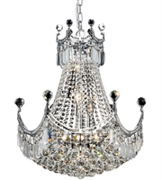 Picture for category Elegant V8949D20C/RC Corona Chandeliers 20in Chrome 9-light