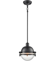 Picture for category Elk 16080/1 Riley Pendants 10in Oil Rubbed Bronze Metal Glass 1-light