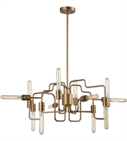 Picture for category Elk 32992/12 Transit Chandeliers 29in Matte Gold Metal 12-light