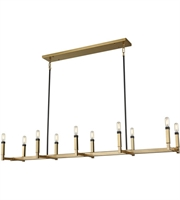 Picture for category Elk 67756/10 Mandeille Chandeliers 60in Satin Brass with Oil Rubbed Bronze