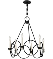 Picture for category Troy F5956 Juliette Chandeliers Country Iron Hand Worked Iron 6-light