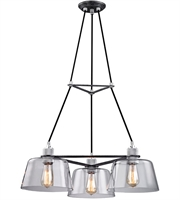 Picture for category Troy F6153 Audiophile Chandeliers Old Siler Polished Aluminum 3-light
