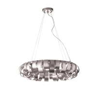Picture for category Dainolite HAR-236P-SV Harmony Pendants 23in Silver Aluminum 6-light
