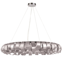 Picture for category Dainolite HAR-288P-SV Harmony Pendants 28in Silver Aluminum 8-light