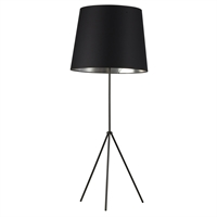 Picture for category Dainolite OD4L-F-697-MB Oversized Drum Floor Lamps 22in Matte Black Metal