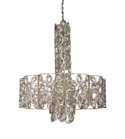 Picture for category Chandeliers 10 Light With Distressed Twilight Hand Cut Crystal 29 inch 600 Watts - World of Lighting