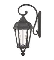 Picture for category Livex Lighting 76186-14 Wall Sconces Textured Black Cast Aluminum Morgan