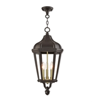 Picture for category Livex Lighting 76193-07 Outdoor Pendant Bronze Cast Aluminum Morgan