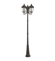 Picture for category Livex Lighting 76198-07 Outdoor Post Light Bronze Cast Aluminum Morgan