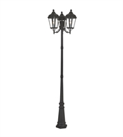 Picture for category Livex Lighting 76198-14 Outdoor Post Light Textured Black Cast Aluminum Morgan