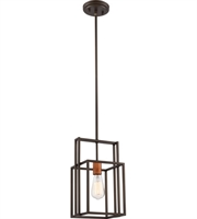 Picture for category Nuvo Lighting 60/5855 Mini Pendants Bronze with Copper Accents Lake
