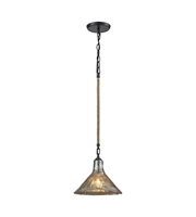 Picture for category Pendants 1 Light With Oil Rubbed Bronze Finish Medium Base 10 inch 60 Watts - World of Lamp