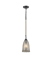 Picture for category Pendants 1 Light With Oil Rubbed Bronze Finish Medium Base 7 inch 60 Watts - World of Lamp