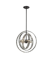 Picture for category Pendants 3 Light With Oil Rubbed Bronze Finish G9 17 inch 120 Watts - World of Lamp