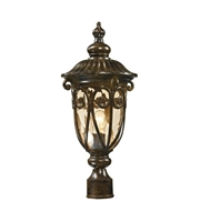 Picture for category Outdoor Post Light 1 Light With Hazelnut Bronze Finish Medium Base 21 inch 100 Watts - World of Lamp