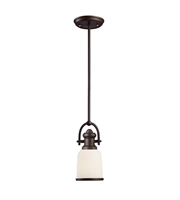 Picture for category Pendants 1 Light With Oiled Bronze Finish Medium Base 5 inch 100 Watts - World of Lamp