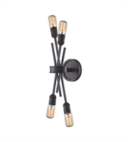 Picture for category Wall Sconces 4 Light With Oil Rubbed Bronze Finish Medium Base 5 inches 240 Watts - World of Lamp