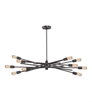 Picture for category Chandeliers 10 Light With Oil Rubbed Bronze Finish 40 inch 600 Watts - World of Lamp